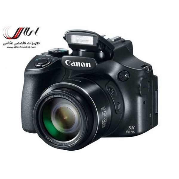 دوربین عکاسی نیمه حرفه ای - اطلس : دوربین عکاسی کانن ، نیکون و سونیCanon PowerShot SX60 HS
