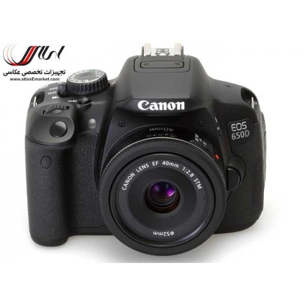 دوربین عکاسی حرفه ای - اطلس : دوربین عکاسی کانن ، نیکون و سونیCanon EOS 650D Kiss X6 - Rebel T4i