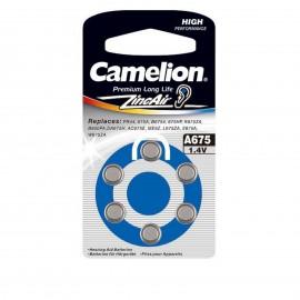 باتری سمعک Camelion Zinc Air A675