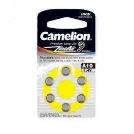 باتری سمعک Camelion Zinc Air A10
