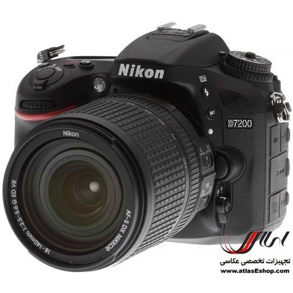 دوربین عکاسی حرفه ای - اطلس : دوربین عکاسی کانن ، نیکون و سونیNikon D7200