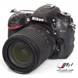 Nikon D7100 با لنز 105-18